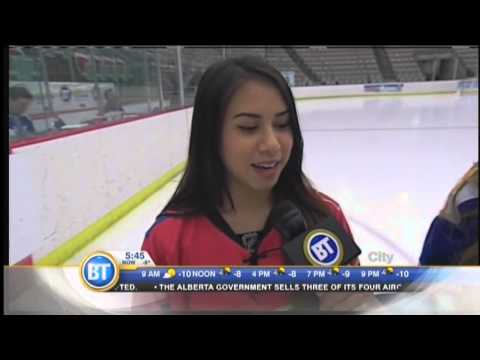 Calgary Flames anthem singer Annie Pattison interview - February 27th