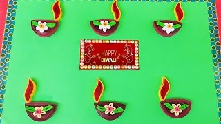 Paper Quilling | Handmade greeting cards for Diwali festival