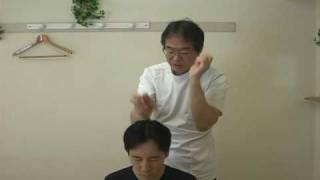 秘技!頭の叩打法 うつ病 花粉症 不眠症 治療1