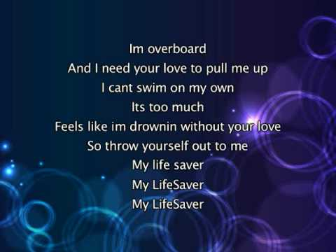 Justin Bieber - Overboard, Lyrics In Video