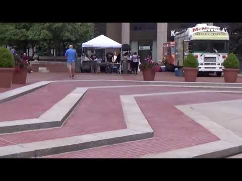 Downtown Dayton, Ohio: People Enjoying Courthouse Square (Don't Listen To The Downtown Haters)