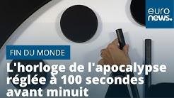 La fin du monde se rapproche : l'horloge de l'apocalypse réglée à 100 secondes avant minuit