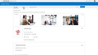 Create an app listing with Oracle Cloud Marketplace Partner Portal video thumbnail