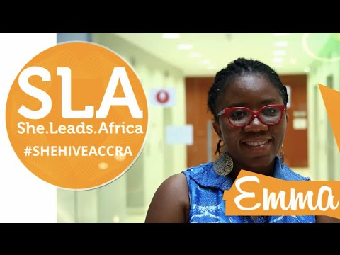 Hear Emma talk about her experiences at She Hive Accra