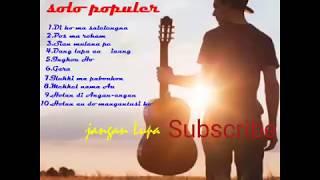 NON STOP Full Album - Lagu Batak Populer Solo