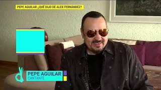 Pepe Aguilar habla de la carrera de Alex Fernández | De Primera Mano