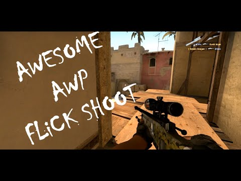 CS:GO - Flick Shoot AWP - Mirage Matchmaking #1 from YouTube · Duration:  33 seconds