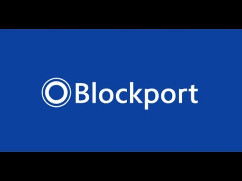 BLOCKPORT: TOP UNDERVALUED CRYPTO FOR 2018?