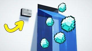 Как сделать фонтан алмазов в выживании