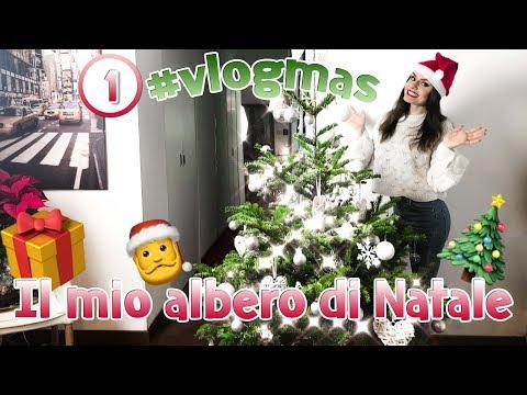 IL MIO ALBERO DI NATALE - PRIMO #VLOGMAS | MARYNA
