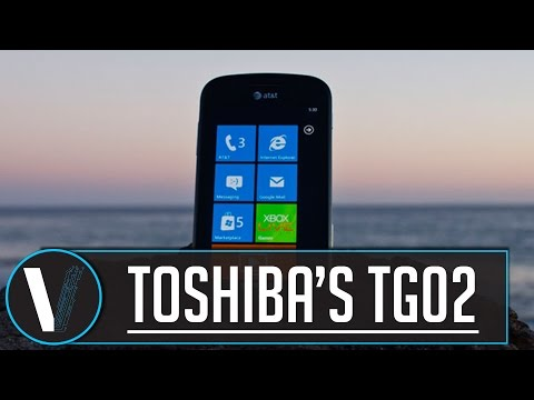Toshiba's TG02 Smartphone review