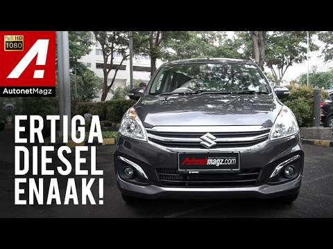 Review Suzuki Ertiga Diesel Hybrid Test Drive By Autonetmagz Youtube