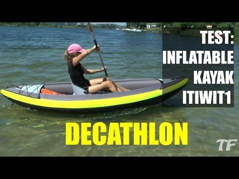 Test Of ITIWIT 1 Man Inflatable Kayak