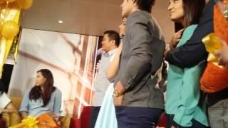 Just the Way You Are Presscon w Enrique, Liza & the Cast