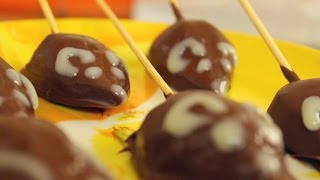 Мышки из груш в шоколаде - Весёлый Поварёнок №11