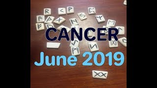 CANCER ♋️ *Laying down a Brand New Foundation* JUNE 2019 RUNE READING