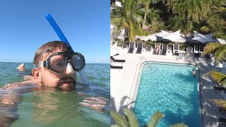 Our Last Day Of Beach Vacation! | Bali Hai Resort, Snorkeling With Fish & The Best Beach Day!