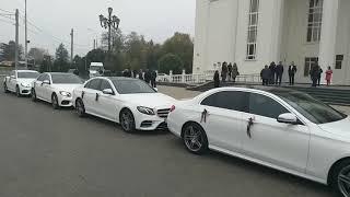 Аренда авто на свадьбу  Свадебный кортеж  Авто класс