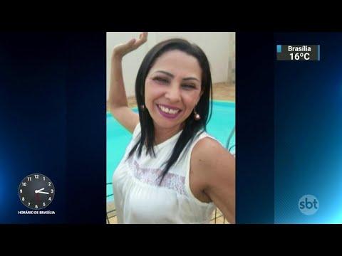 Mulher assassinada em frente à filha é enterrada no interior de SP | SBT Notícias (27/04/18)