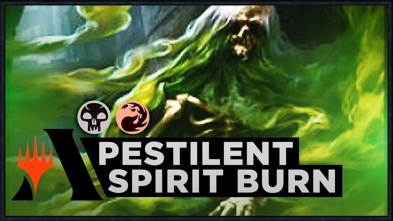 Ravnica Allegiance MTG Magic Pestilent Spirit Foil