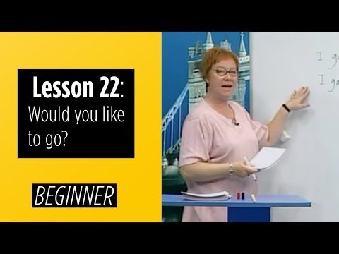 Beginner Levels - Lesson 22: Would you like to go?