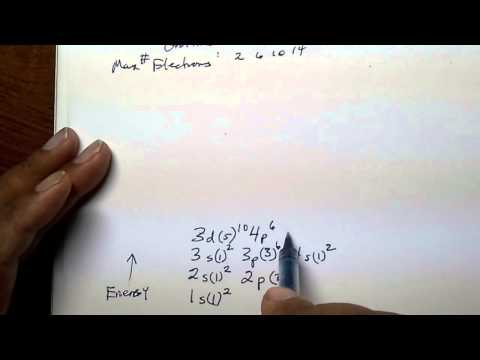 Electron Configuration, part 2