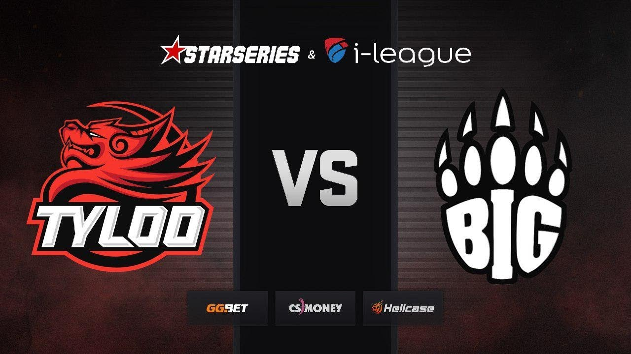 [RU] BIG vs TYLOO | Map 2 – Dust2 | StarSeries i-League Season 7