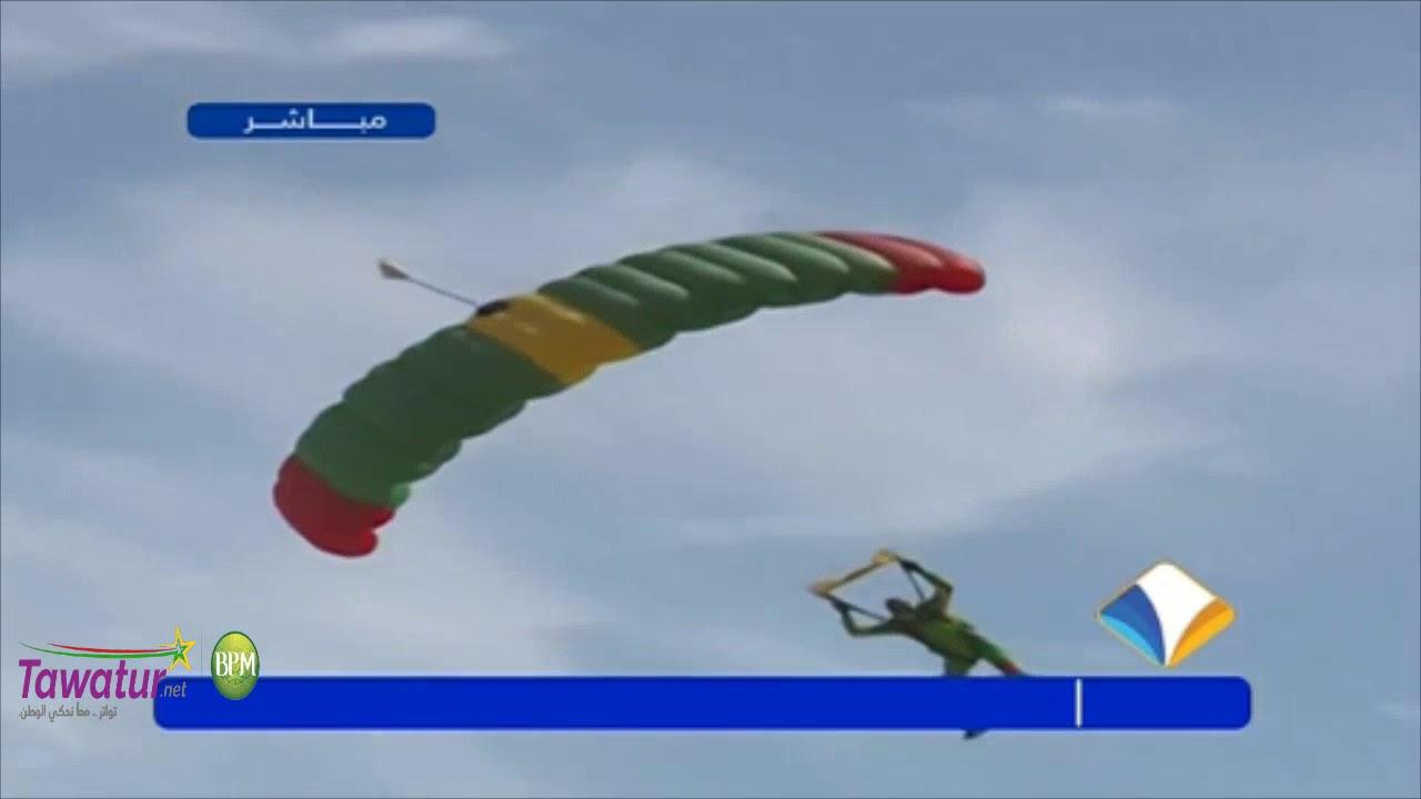 عرض كتيبة المظليين فعاليات العرض العسكري ذكرى 59 عيد الاستقلال بمدينة اكجوجت