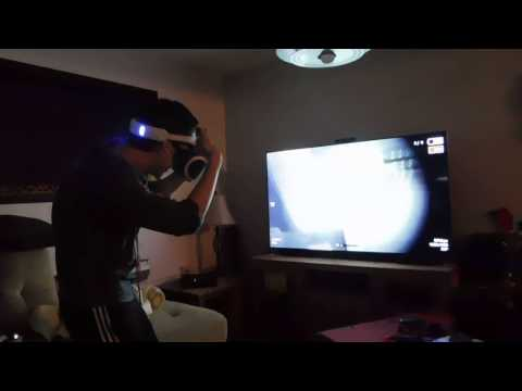 outlast 2 reaction on ps4 vr part 1