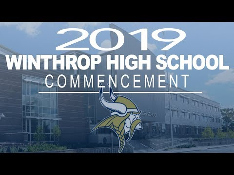 Winthrop High School-Graduation- 2019