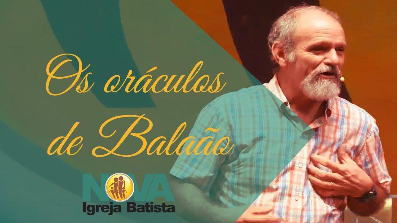 OS ORÁCULOS DE BALAÃO