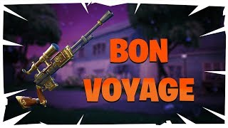 REVIEW-BON VOYAGE SNIPER, REALLY GOOD? -FORTNITE SAVE THE WORLD
