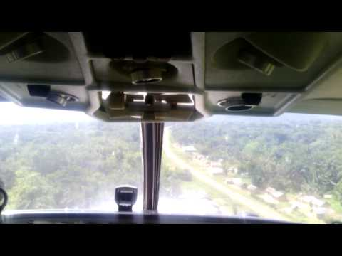 Bush landing in Congo