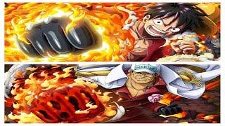 OPTC Clash! Akainu vs Time Skip Luffy team!