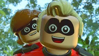 LEGO The Incredibles 2 Movie Game Disney Pixar English Full Episode 12