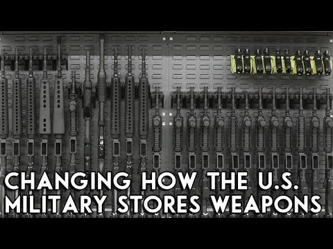 Building Weapon Storage Racks For The U.S. Military - TWS: Ep. 14