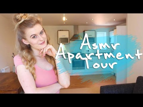 ASMR British Apartment tour for relaxation