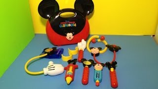 Disney Mickey Mouse Clubhouse Doctor Kit Playset Disney Mickey Mouse Toys Unboxing