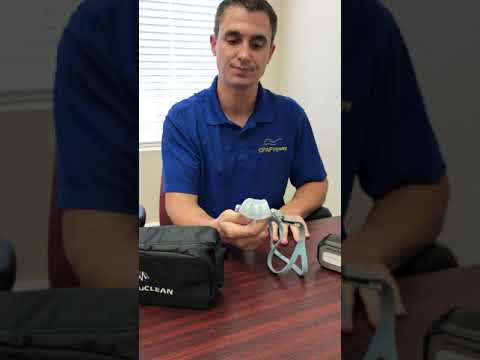 Virtuclean CPAP Cleaner Instructional