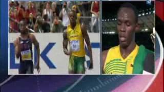 2009 08 Monde 100m M Finale WR Bolt 9 58