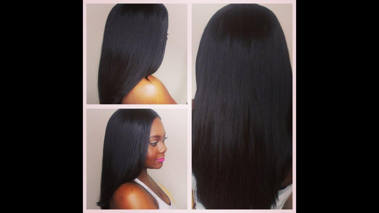 Virgin indian light yaki girl xcellence hair youtube pmusecretfo Images