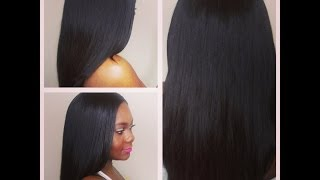 Virgin Indian Light Yaki Girl!!! Xcellence Hair