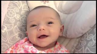 Baby Danica Laughs At Father