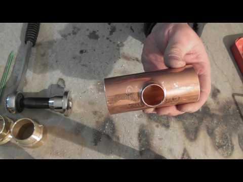 Практика №3. Набор инструмента Rothenberger. Пайка медных труб и фитингов.