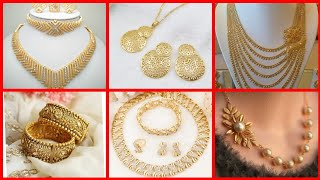 new stylish Dubai gold jewellery designs