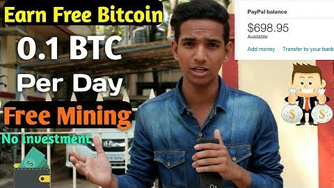 Earn Free 0.1 BTC in Your Wallet Free mining Site 2019 In Hindi