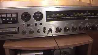 Vintage Panasonic RE-8140 8-Track Player & AM/FM Stereo Receiver