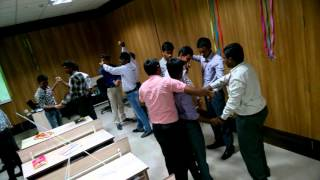 Active participation of the candidates in a Team building game HUMAN KNOT(, 2015-10-05T07:19:18.000Z)