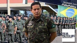 General Mourão faz último pronunciamento antes das eleições e escancara a corrupção vig..