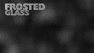 How to create Frosted Glass effect in photoshop